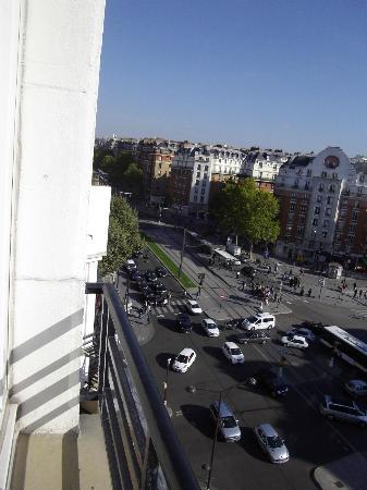 Hotel Acropole: vue de la chambre