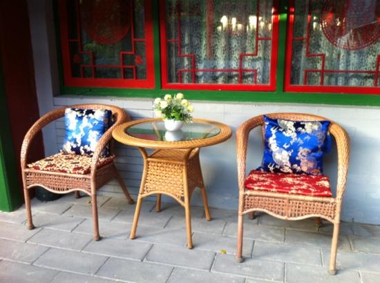 Double Happiness Beijing Courtyard Hotel: Viele stilvolle, gemütliche Ecken.