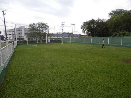 Dom Pedro I Palace Hotel: Cancha de fútbol