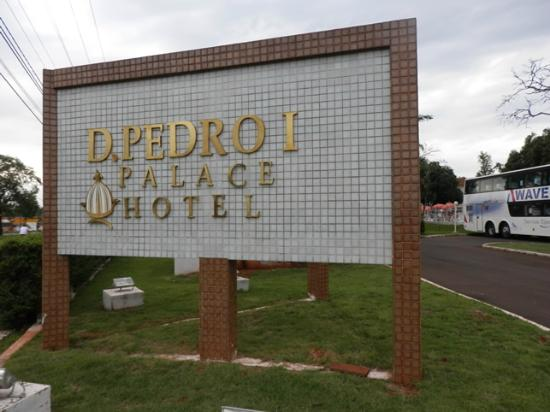 Dom Pedro I Palace Hotel: Entrada