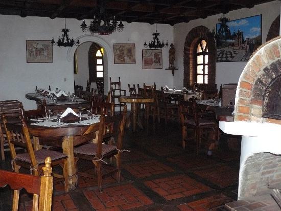 Hotel El Castillo de San Ignacio : Comedor