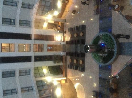 Sofitel London Gatwick: View from the glass lift