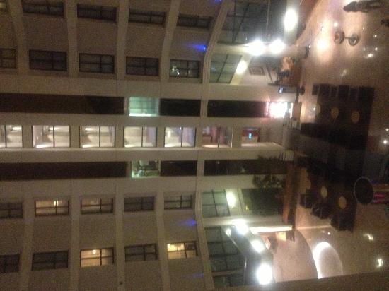 Sofitel London Gatwick: View from our room, overlooking the Courtyard
