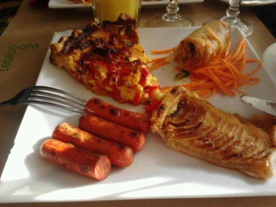 Le Bloc: € 10 Brunch - yummy