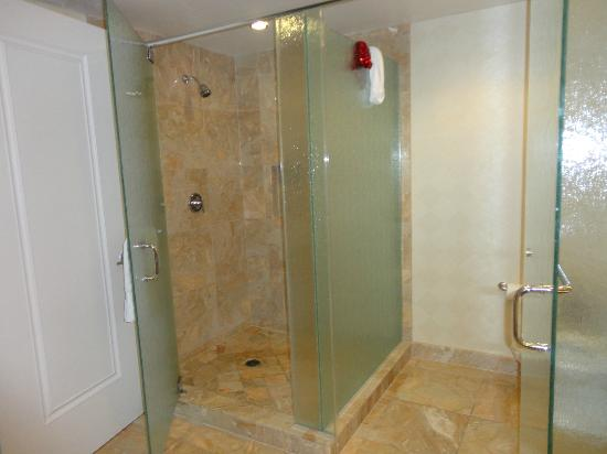 Trump International Hotel Las Vegas: Stand Up Shower And Separate Toilet  Area (with Textured