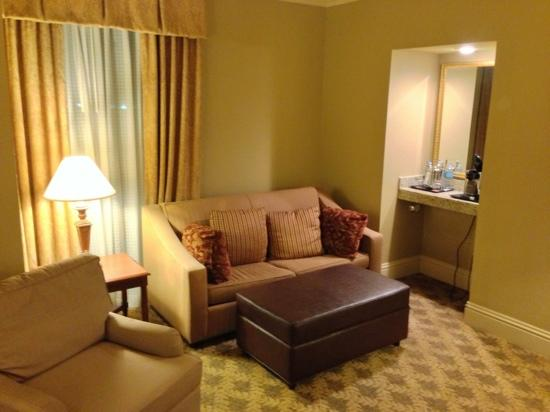 The Read House Historic Inn And Suites: Sitting / TV Room