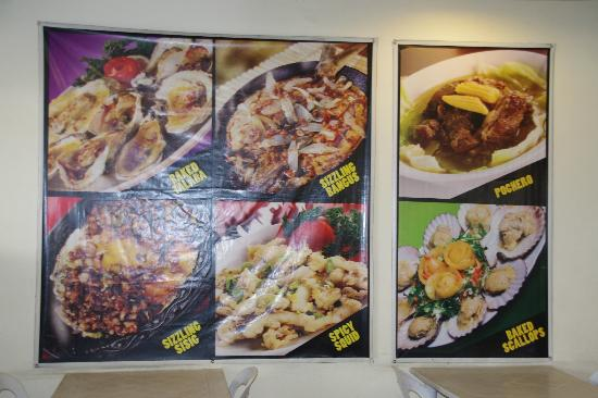 The original Barbeque: the other menu board