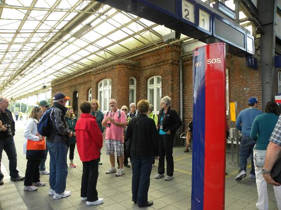 Friends of Dave Tours: Train Station Wismar