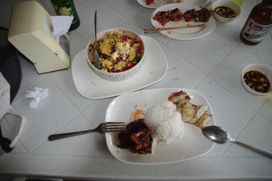 The original Barbeque: some of the dishes which we ordered