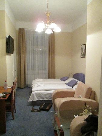 Room From Door Picture Of Hotel Taurus Prague Tripadvisor
