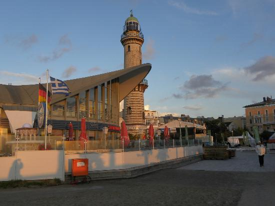 Friends of Dave Tours: Warnemünde Teepott and lighthouse