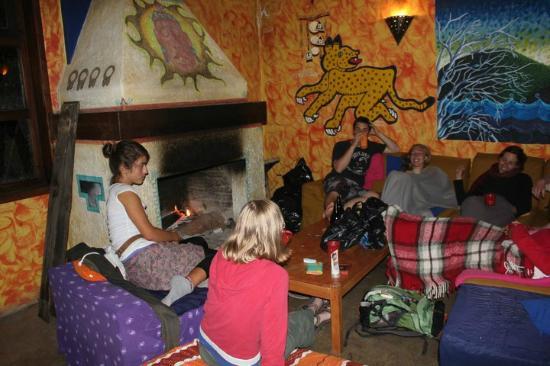 Hostel Qhia : el salon