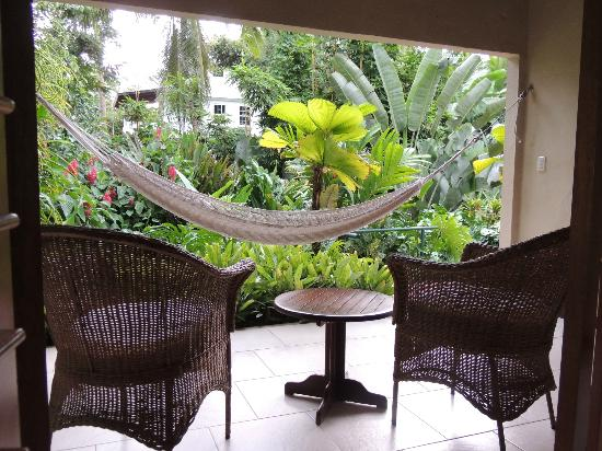Falls Resort at Manuel Antonio: Terrasse privative...quelle vue!