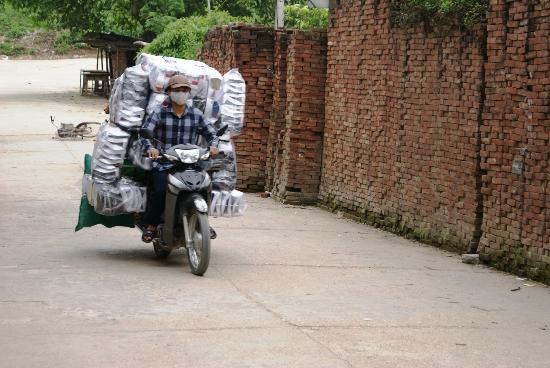 Custom Vietnam Travel Day Tours: Ha Giang goods transport
