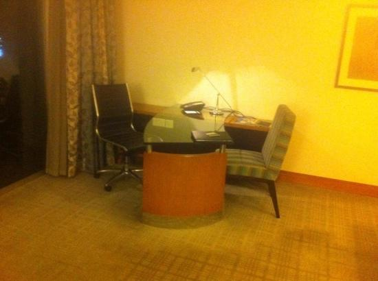 Fairmont Singapore: the office.