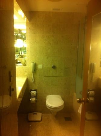 Fairmont Singapore: the loo.