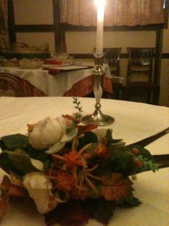 Il Galeotto Ristorante: atmosfera a lume di candela...