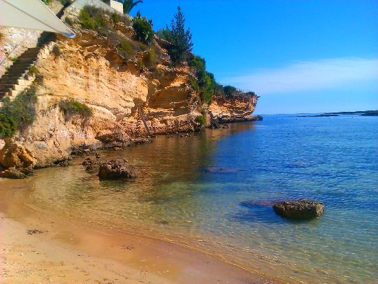 جراند هوتل ميناريتو: Private beach 