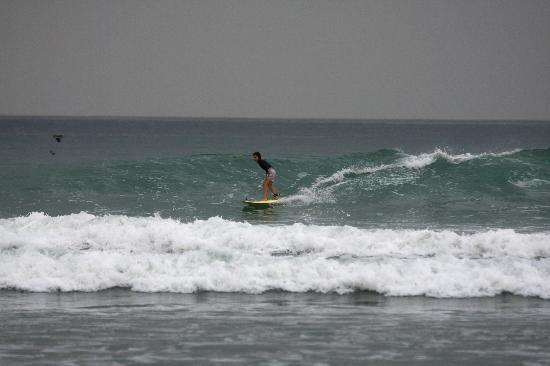 Adrenalina Kite & Surf Camp: secret spot for kids surf lesson
