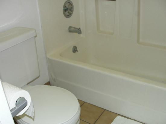 Hawthorne Plaza Inn: Bathroom