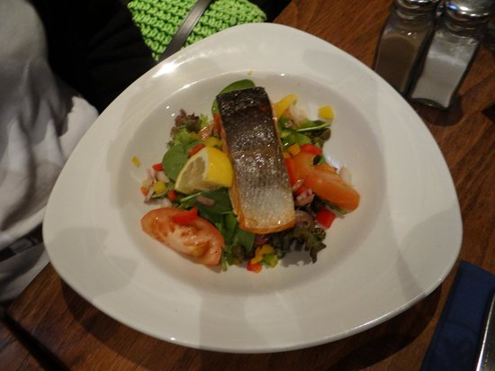Penhelig Arms: Out of this world salmon