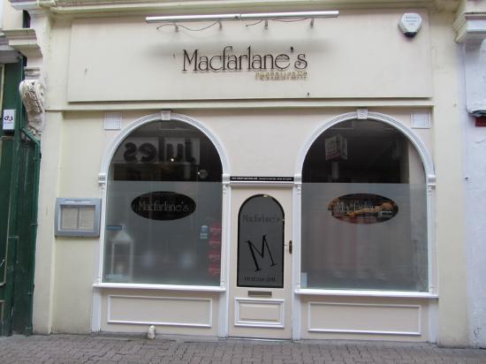 Macfarlanes: Front of Macfarlane's