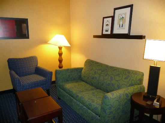 SpringHill Suites Denver Airport: Sitting Area
