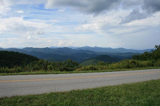 North Carolina Mountains, NC: The highway itself