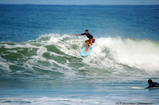Adrenalina Kite & Surf Camp: AUDREY surf instructor ADRENALINA