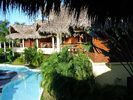 Zoetry Agua Punta Cana: A different view from our balcony,