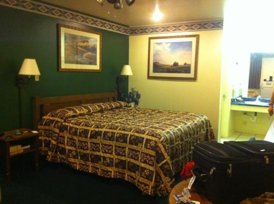 Alamo Inn Motel: I wish I could show just how spacious the room is.