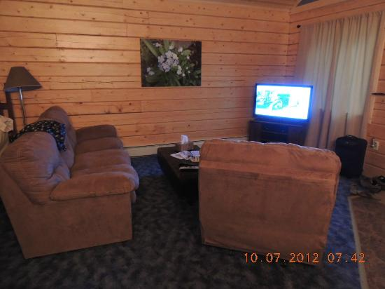 Delta Junction, AK: Forget me not cabin interior