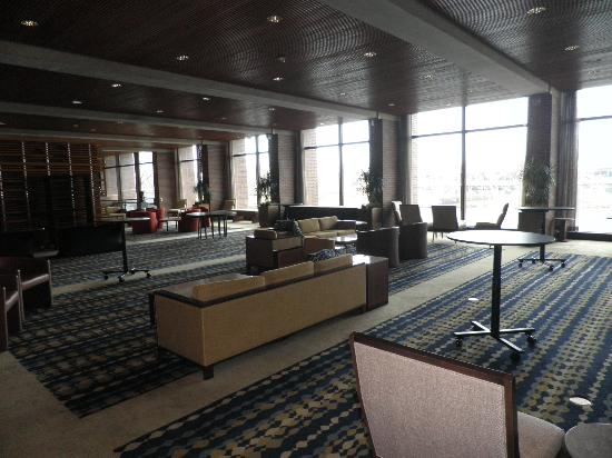 The Hyatt Lodge at McDonald's Campus: View of the conference area, as you first walk in