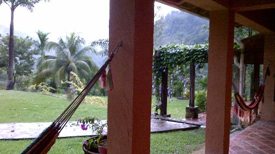 La Villa de Soledad B&B: View of the mountain.