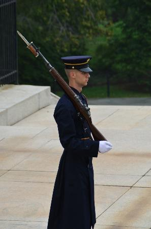 Arlington National Cemetery: Tomb of the Unknown Soldier Guard