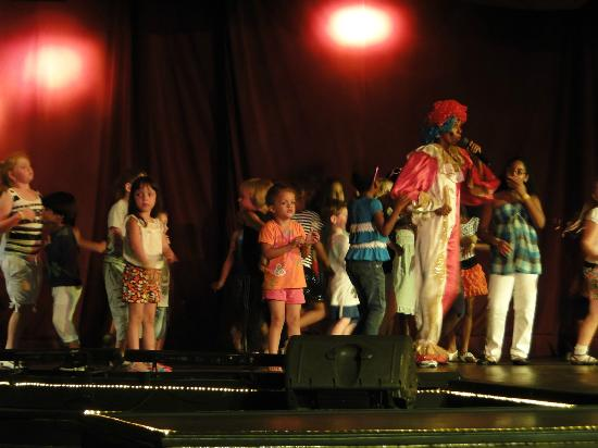 Barcelo Occidental Punta Cana: en el show infantil