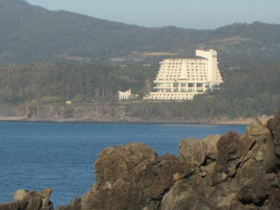 Hyatt Regency Jeju: Hotel from afar