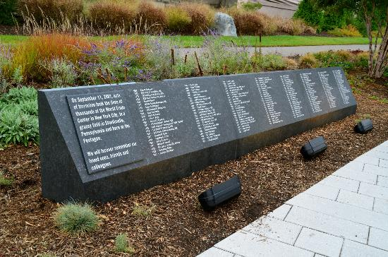Pentagon Memorial: List of names.