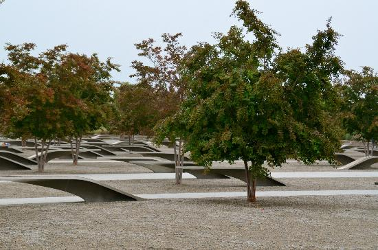 Pentagon Memorial: Peaceful.
