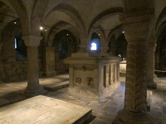 Catedral de Lund: The crypt