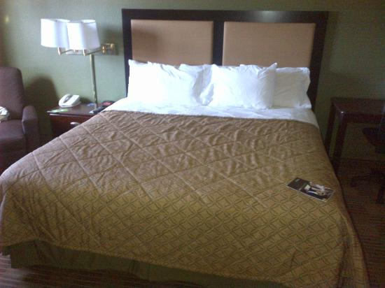 Extended Stay America - Pleasant Hill - Buskirk Ave.: king size bed