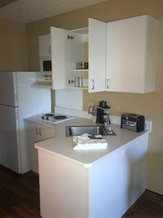 Extended Stay America - Pleasant Hill - Buskirk Ave.: kitchenette