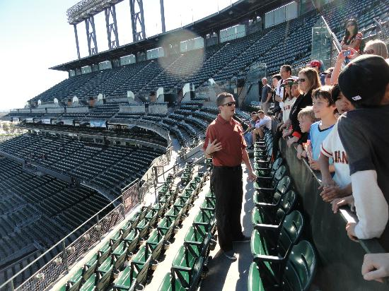Oracle Park Tours with Tour Guide