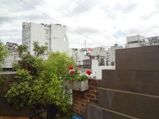 Hotel A&B Internacional: Terraço