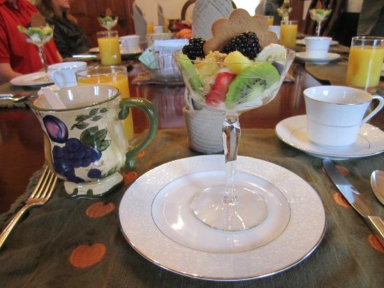 Queen Anne Guest House : How breakfast began