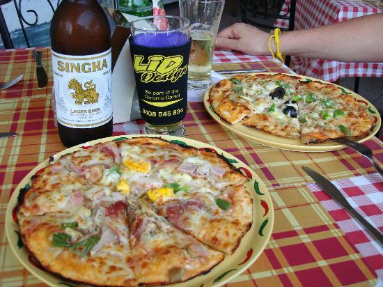 Pizza Corner: The pizzas