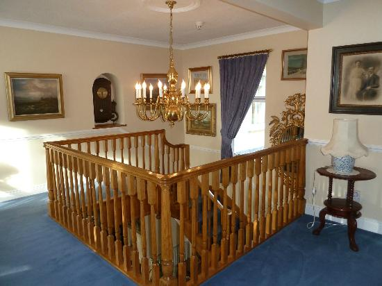 Sallyport House: Upstairs hallway