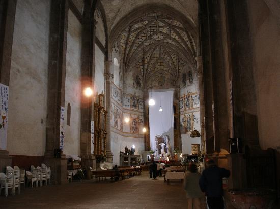 Ex Convent of Acolman: Interior del ex convento de Acolman
