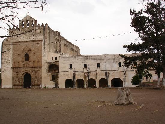 Ex Convent of Acolman: capilla abierta del ex convento de Acolman