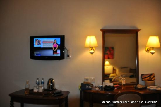 Pondok Brastagi, Indonesien: Clean & spacious room